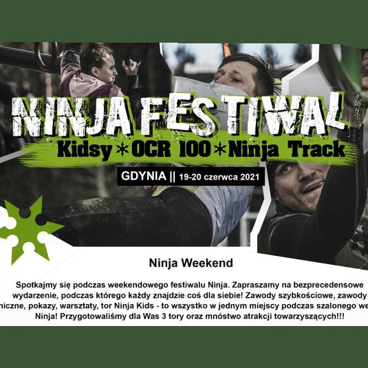 Ninja Weekend  19-20 czerwca 2021